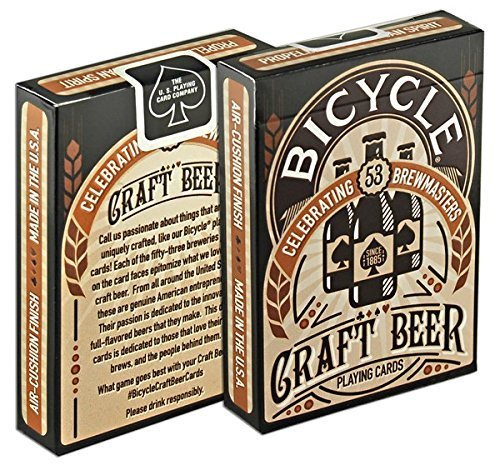 Bicycle Craft Beer Playing Cards 2 Decks