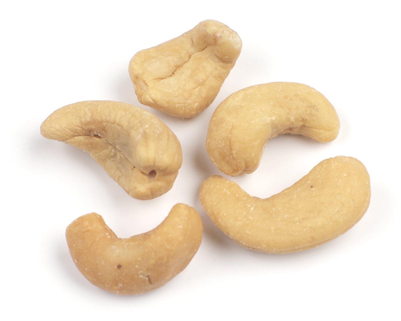 Roasted, Unsalted Cashews, 25 Lb Bag