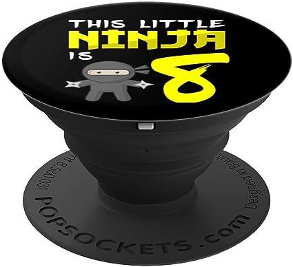 Amazon.com: Ninja PopSocket Grip - Empuñadura para 8 años de ...