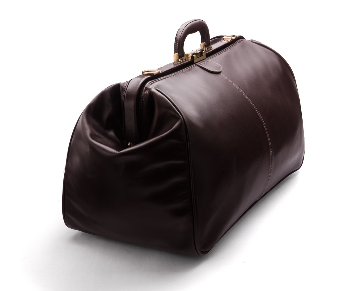 SAGEBROWN Brown Large Gladstone Holdall