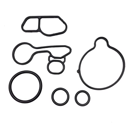 Amazon Com Oil Cooler Thermostat Housing Seals Gasket Kit Fits