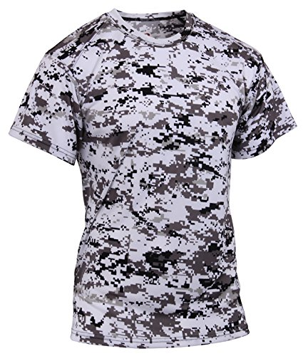 Polyester Digital Camo (Rothco Polyester Performance T-Shirt, City Digital Camo, Medium)