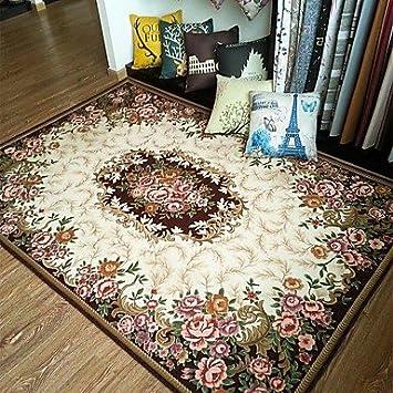 XIIDE Mode Floralen Anti Rutsch Jacquard Teppich Für Wohn Wohnzimmer /  Esszimmer
