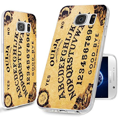 THE FORTRESS Premium cases Armour Slim Case -Samsung Galaxy S9 (5.8 inch) Case,White Ouija Board Case for Samsung Galaxy S9 (5.8 inch) Black Coverships nest day from USA