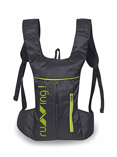 Buy NIVIA  Running  Bag Black Online at Low Prices in India - Amazon.in 63b82a3d87c4f