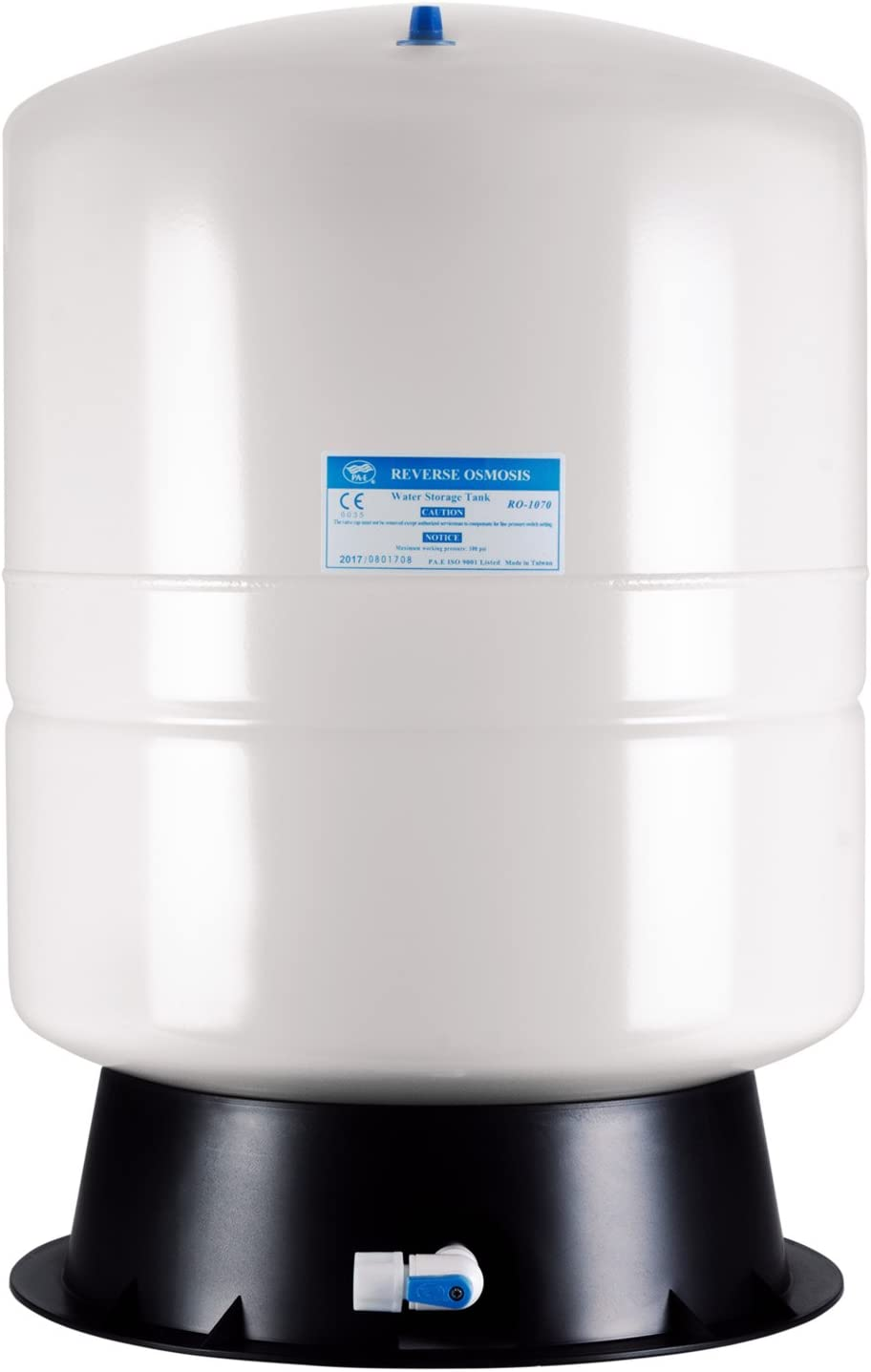 iSpring T11M 11 Gallon Pre-Pressurized Water Storage Reverse Osmosis Systems ro tank, 11 gal, White