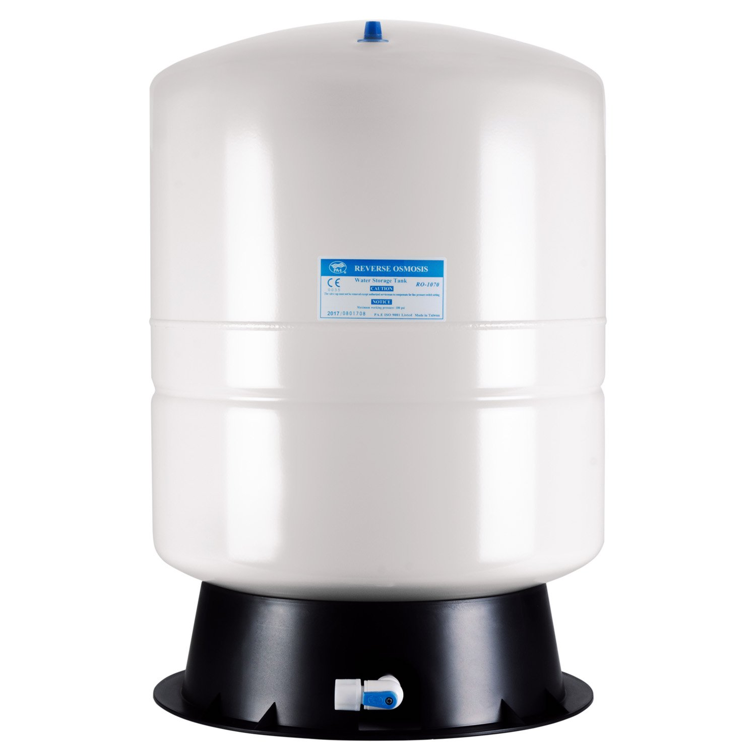 iSpring T11M Pressurized Water Storage Tank for Well and Reverse Osmosis RO Systems 11 Gallon by iSpring