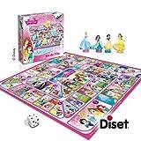 Diset - 46583 - Jeu De L'oie Des - Princesses Disney