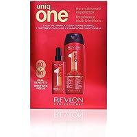 Revlon UniqOne Classic Pack de Spray y Champú, 150ml y 300ml