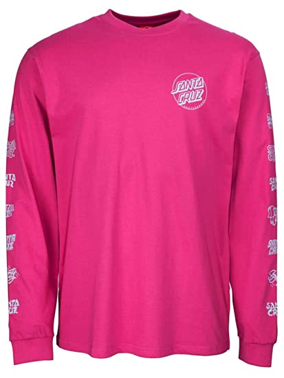 fc4d4e945e34 Santa Cruz Multi Cruz Long Sleeve T Shirt - Raspberry  Amazon.co.uk   Clothing