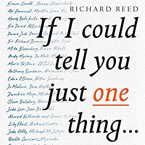 If I Could Tell You Just One Thing Audiobook