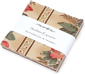 """Southern Exposure Charm Pack by Laundry Basket Quilts; 42-5"""" Precut Fabric Quilt Squares"""