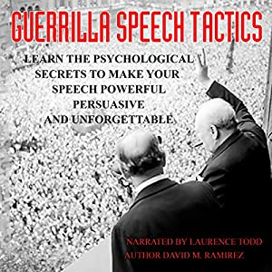 Guerrilla Speech Tactics Audiobook