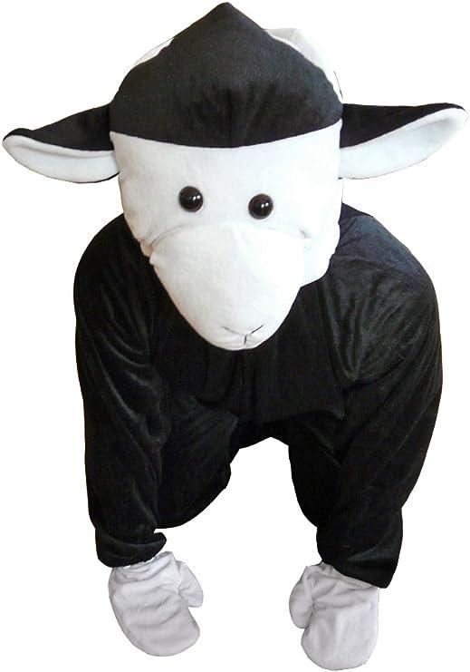 ST2 M hasta XL oveja negra Disfraz Ovejas Disfraces oveja Disfraz ...