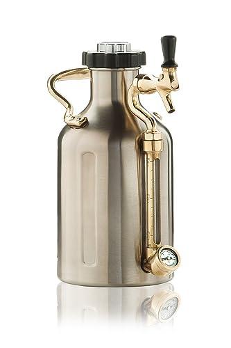 uKeg 64 Pressurized Growler for Craft Beer