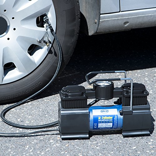 cylinder high-performance air pump foot pump with pressure gauge 202000 from alca germany ... Alca 2