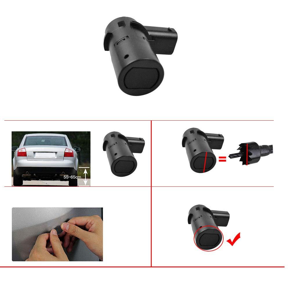 FLYPIG Rear Bumper Reverse Back Up Parking Sensor for Nissan Titan Armada 05-11