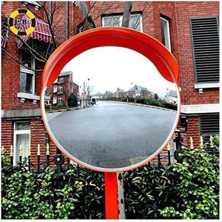 カーブミラー アウトドア交通ドライブウェイワイドアングルリフレクターバンプ球面安全盗難防止PSプラスチックミラー60センチメートル80センチメートル、取付金具を送ります RGJ4-27 (Size : 600mm)
