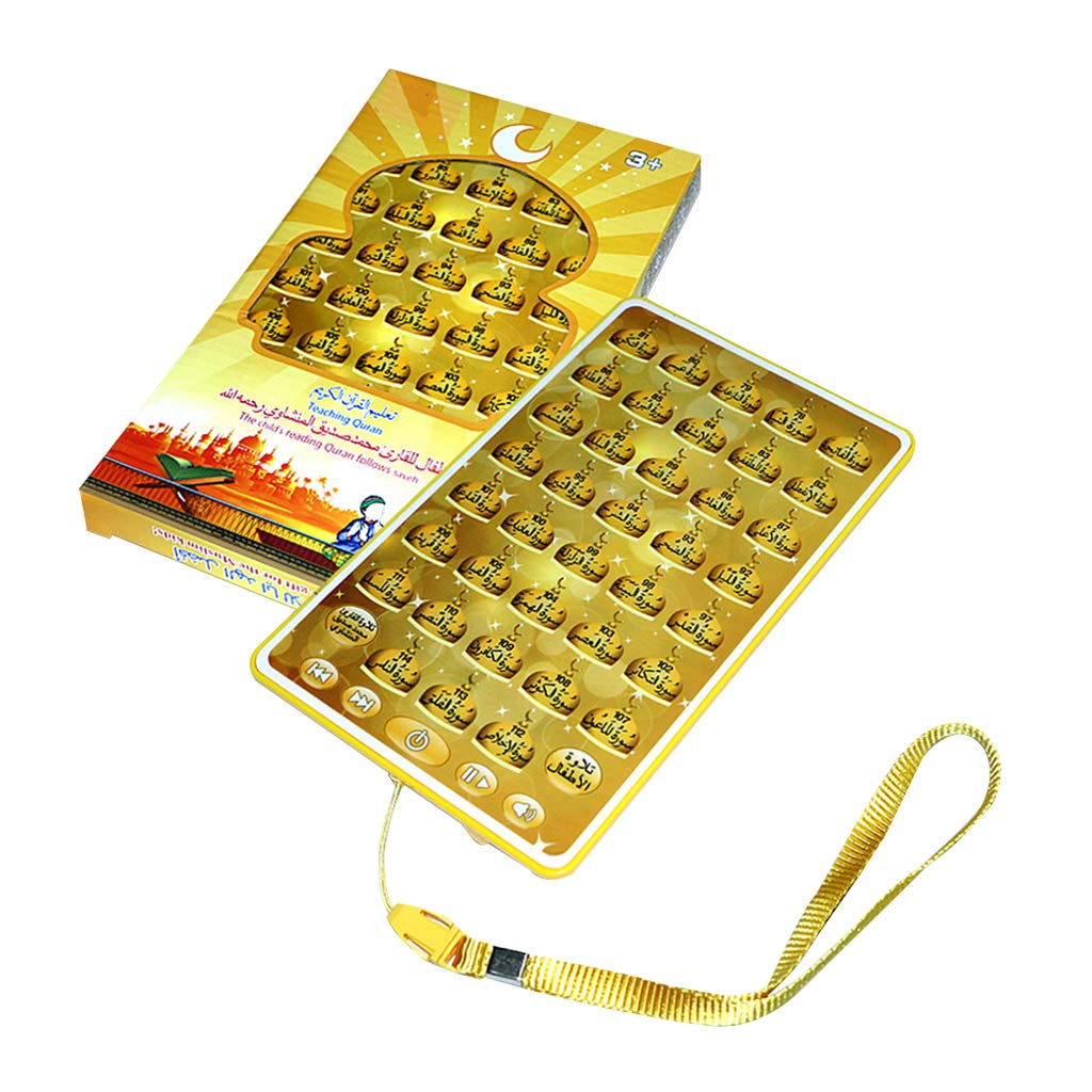 MagiDeal 2 St/ücke Kinder Arabischer Tisch Lernen Islamischen Koran Spielzeug Muslimischen Koran Lernspielzeug