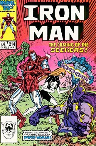 214 Series (Iron Man (1st Series) #214 VF/NM ; Marvel comic book)