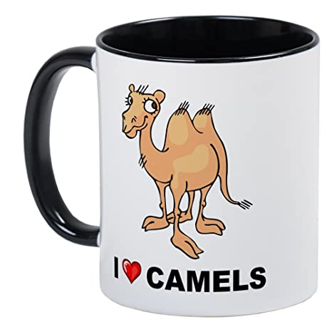 Amazon Com Cafepress I Love Camellos Unique Taza De Cafe
