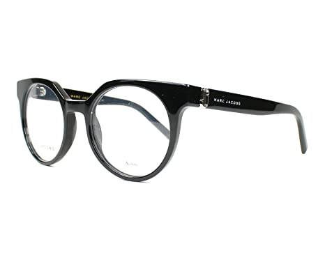 db98408053 Amazon.com: Optical frame Marc Jacobs Acetate Shiny Black (MARC 114 ...