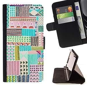 For LG G4 Case , Dibujo de la mano del niño lindo de la pluma del arte- la tarjeta de Crédito Slots PU Funda de cuero Monedero caso cubierta de piel
