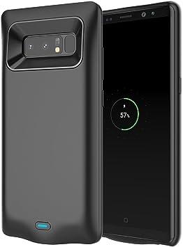 Funda batería Samsung Galaxy Note 8, FindaGift 5500mAh Ultra delgado Cubiertas externas de la batería Cargador de batería Power Bank Backup Extra protector a prueba de golpes funda para Galaxy Note 8: