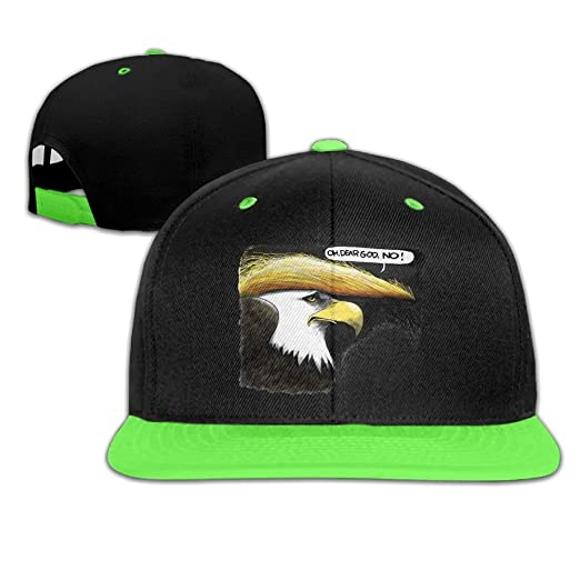 0cef108ba7f38 ... uk kids hat kids baseball cap colour plain hip hop quzim trump hair  style bald eagle