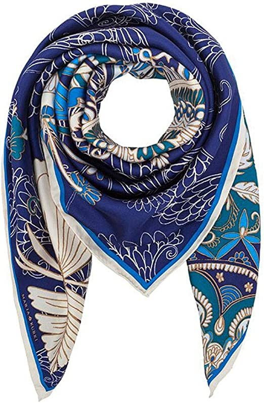 Neck Tie Head Wraps Square Scarf Shawls Silk Feel Satin Women Scarves 90x90cm UK