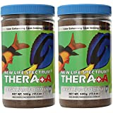 (2 Pack) New Life Spectrum Thera-A 1mm Sinking Salt/Freshwater Pet Food 500 Gram