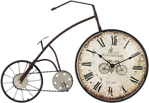 Los Relojes De Pared Retros del Reloj De Pared De La Bicicleta ...