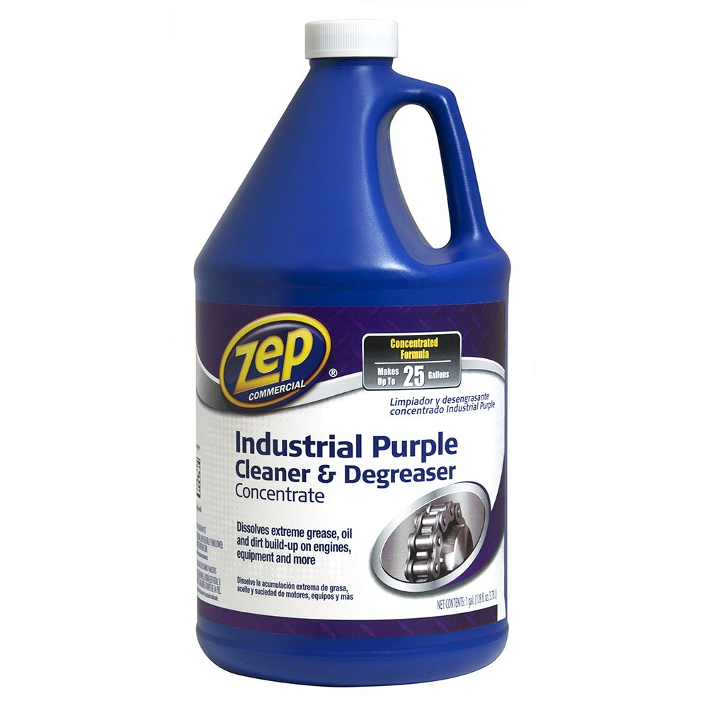 ZEP ZU0856128 Industrial Purple Cleaner and Degreaser Concentrate 128 Ounces