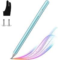 WOEOA Lápiz Stylus Capacitivo Universal con Dibujo Guante Stylus Pen, Bolígrafos Digitales para Pantalla Táctil Ipads…