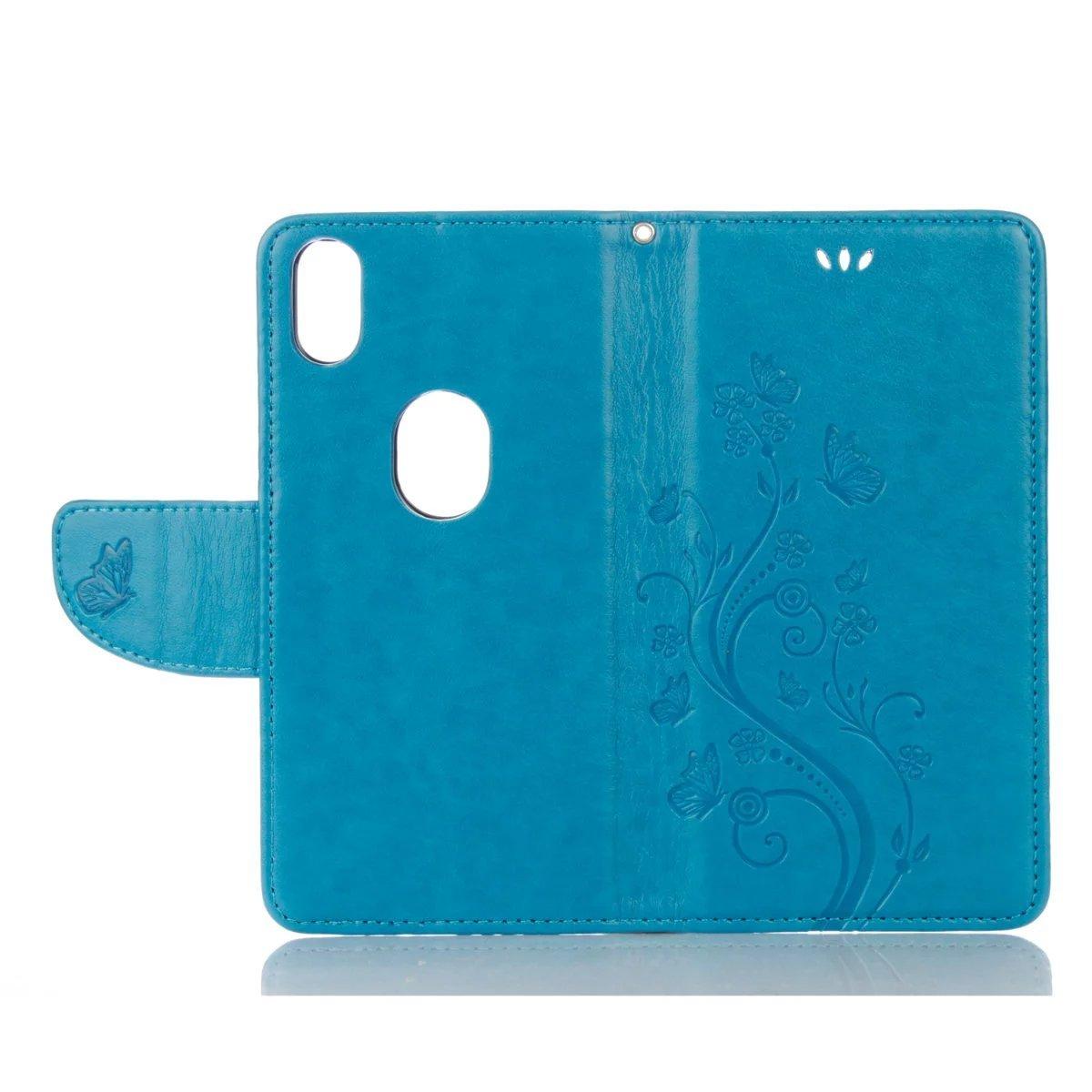 Amazon.com: Flip Case Cover For BQ Aquaris X5 Plus Tree ...