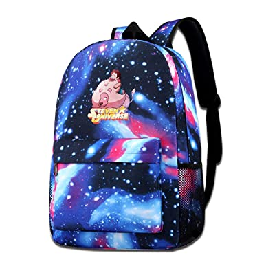 S-teven Universe Backpack Stylish Boys Girls Print For School Blue One Size: Clothing [5Bkhe1403441]