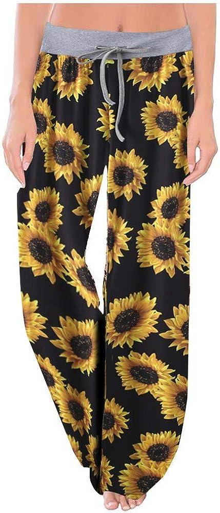 ZODOF Pantalones Mujer Talle Alto Estampado Baggy Jogger ...