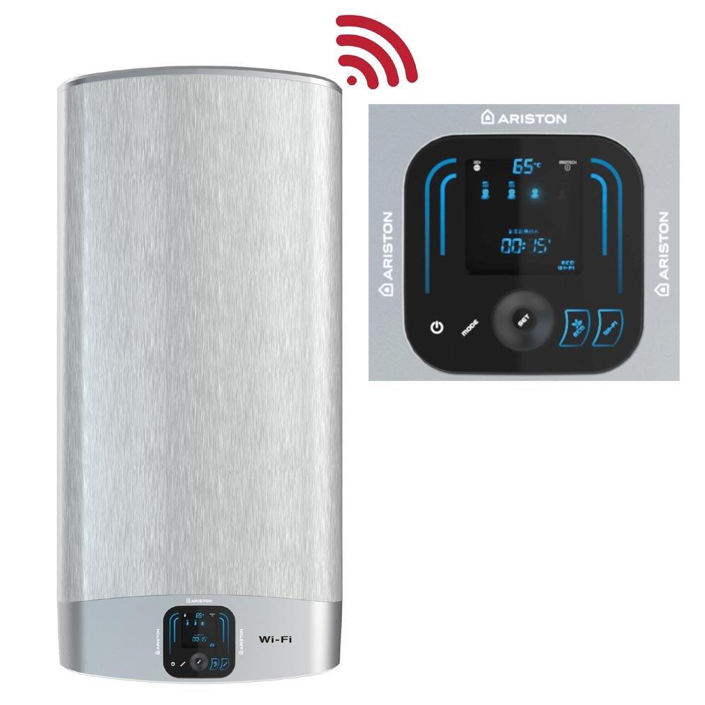 Chauffe Eau Lectrique Plat Ariston V Lis Wifi 80 Litres Fr Eu