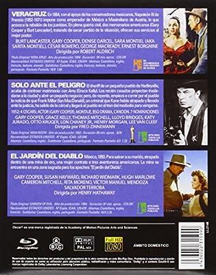Gary Cooper - En El Oeste [Blu-ray]: Amazon.es: Gary Cooper, Burt ...
