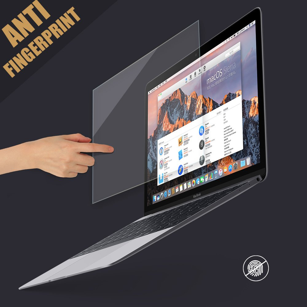 PERFECTSIGHT Tempered Glass Screen Protector for New MacBook Pro 15 inch Touch Bar 2016/2017/2018, 55% Anti Glare Blue Light Filter by PERFECTSIGHT (Image #6)