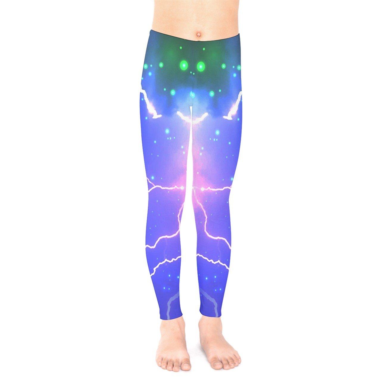 e1d212727e14b Amazon.com: PattyCandy Galaxy Celestial and Night Sky Pattern Unisex Little  & Big Kids Long Stretch Leggings, Size:2-16: Clothing