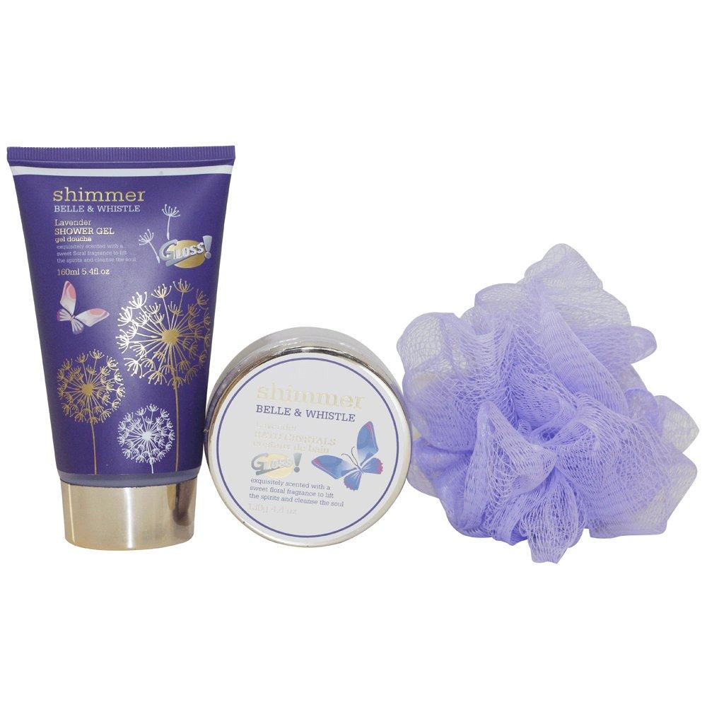 Gloss! Armadio Metallico Bain Luccichio B & W, Granada - 3 Pezzi Universal Beauty Market SHM18631 PINK