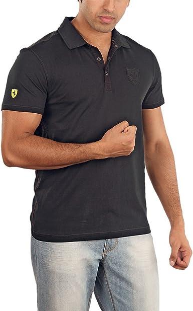 Puma Ferrari – Polo para hombre negro XXL: Amazon.es: Ropa y ...