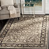 Cheap Safavieh Vintage Collection VTG576D Transitional Oriental Taupe and Black Distressed Area Rug (4′ x 5'7″)