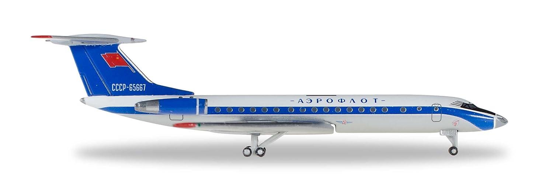 Herpa 529938 Aeroflot Tupolev TU-134A - Kit de maquetas de ...