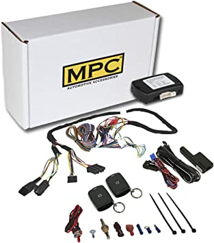 MPC Factory Remote Activated Remote Start Kit for 2014-2019 Toyota Corolla Firmware Preloaded with T-Harness H-Key ONLY