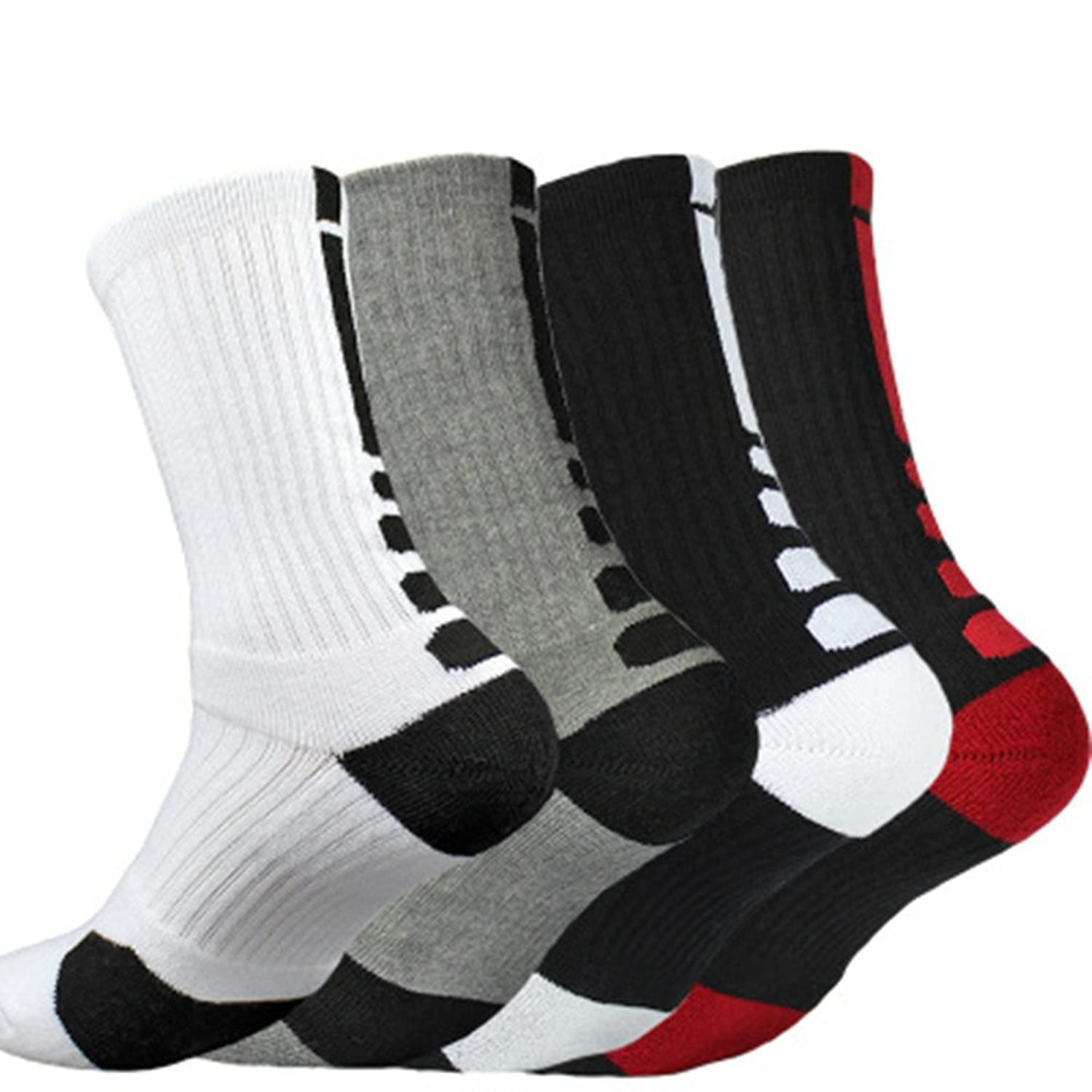806c7c19a7 Good quality socks - fits perfectly active wear and moisture wicking,Very  good choice for everyday use , Soft and fit very well, use for football ans  work ...