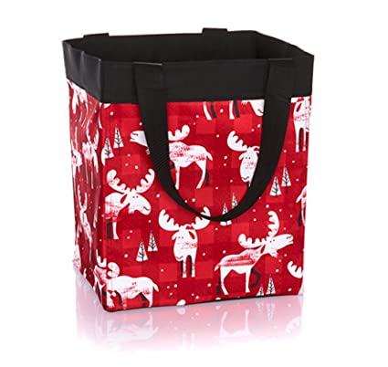 Thirty One Essential Storage Tote In Moosin Around   No Monogram   4446