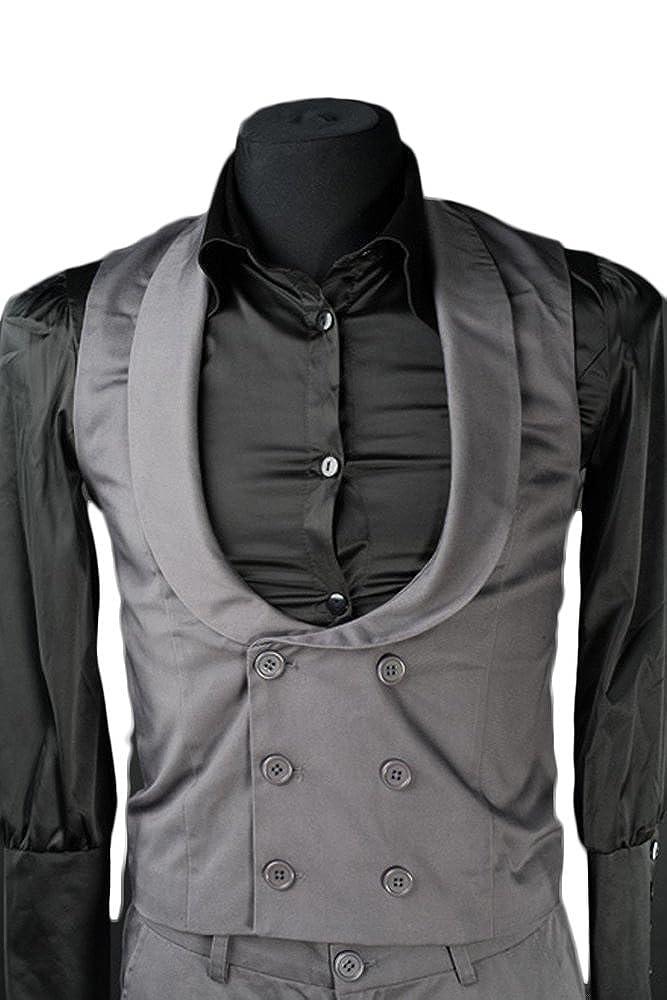 Dracula Clothing Weste Grau Dracula