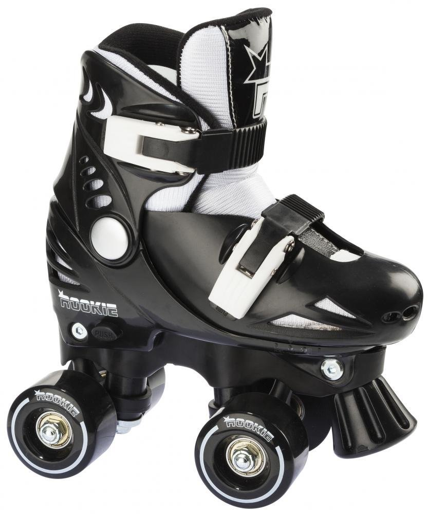 Rookie roller skates amazon - Rookie Childrens Quad Adjustable Roller Skates Black Shadow Size 2 Uk 4 Uk Amazon Co Uk Sports Outdoors
